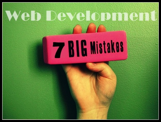 7 mistakes of web developers