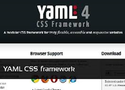 YAML Framework for Web Development