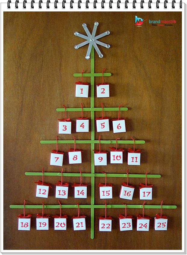 advent calendar responsive design