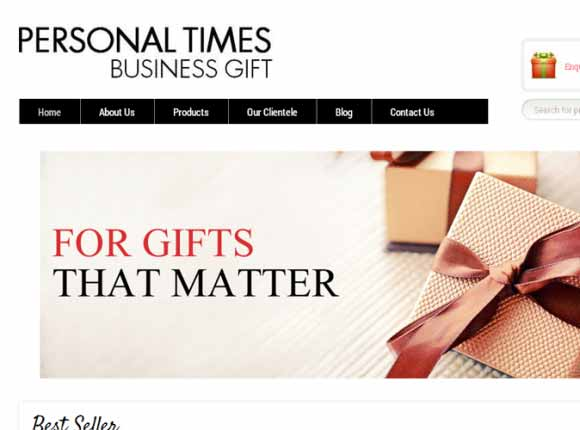 Personal Times Business Gift