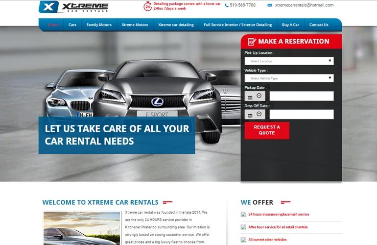 Xtreme Car Rentals | Brand Maestro