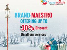 Get Ready for Christmas Discounts on Web Services with Brand Maestro