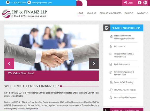 ERP & FINANZ LLP